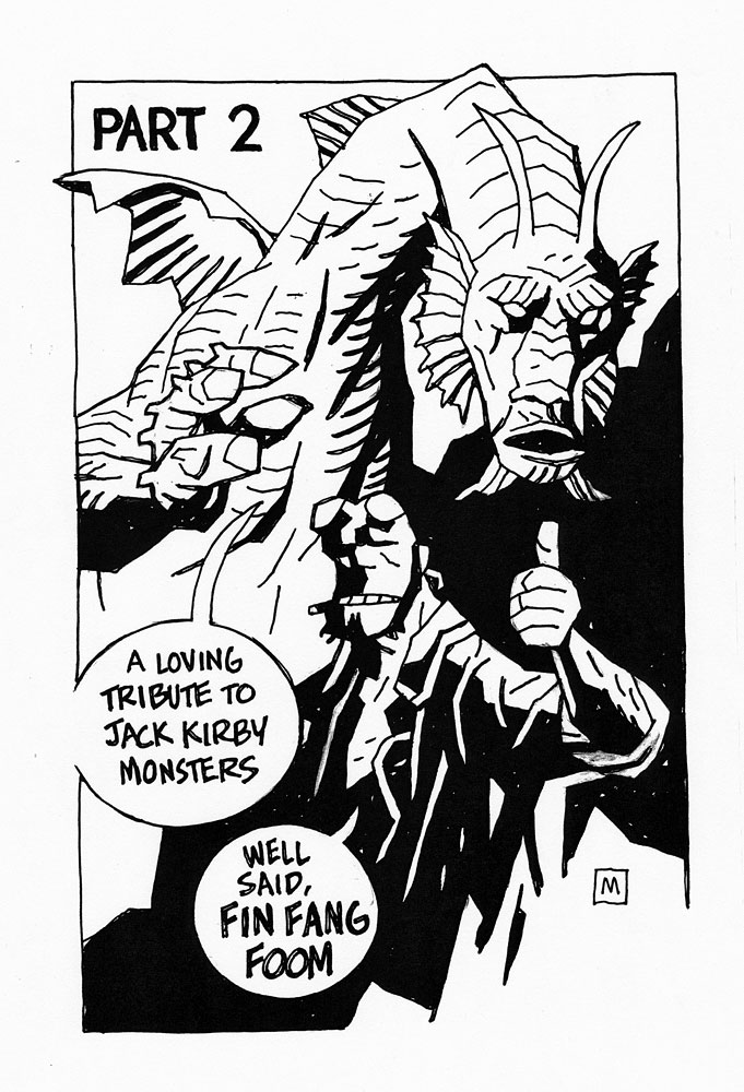 mike-mignola-jack-kirby-tribute