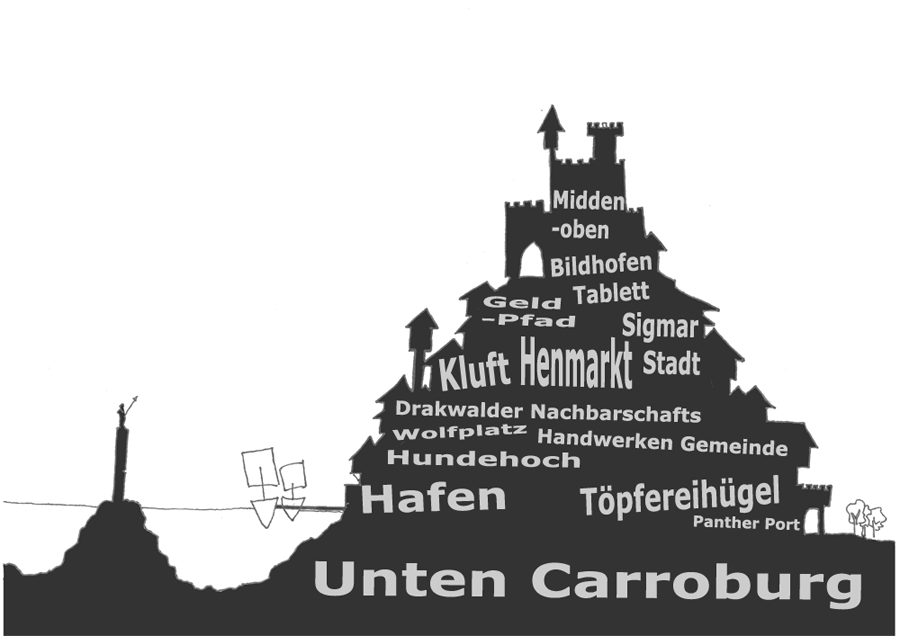 Carroburg outline