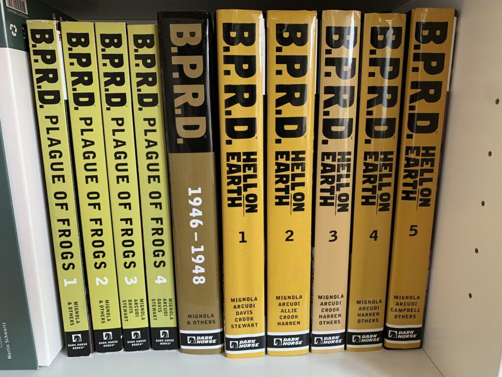 Mine B.P.R.D. tegneserier